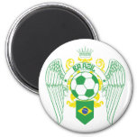 El Brasil Futbol Iman De Nevera