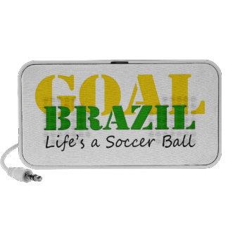 El Brasil - la vida es un balón de fútbol iPhone Altavoz