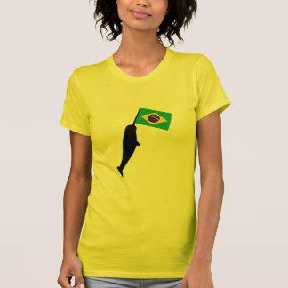 El Brasil Narwhal Camiseta