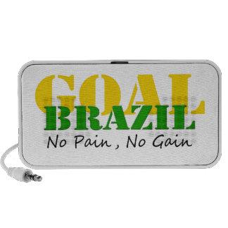 El Brasil - ningún dolor ningún aumento Altavoz De Viajar