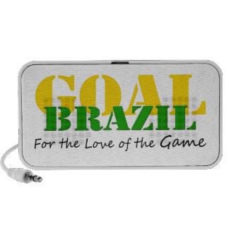 El Brasil - para el amor del juego iPhone Altavoces