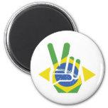El Brasil, paz Imanes Para Frigoríficos
