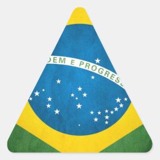el Brasil Colcomanias Triangulo Personalizadas