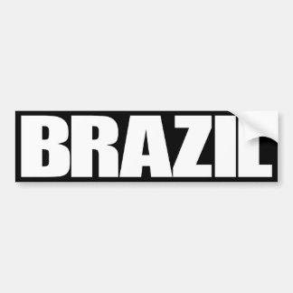 El Brasil Pegatina Para Auto