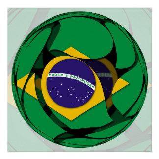 El Brasil Perfect Poster