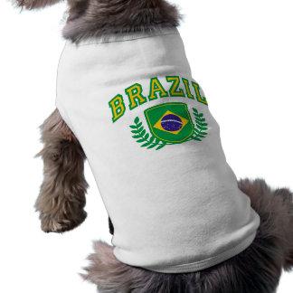 El Brasil Playera Sin Mangas Para Perro