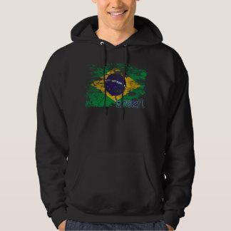 El Brasil Pulóver Con Capucha