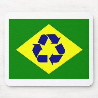 El Brasil recicla la estera del ratón de la bander Alfombrillas De Raton
