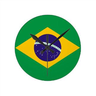 el Brasil Reloj Redondo Mediano