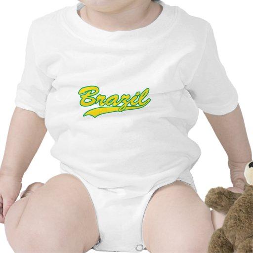 El Brasil retro Trajes De Bebé