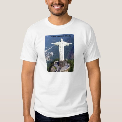 El Brasil Río de Janeiro Cristo (St.K.) Remeras