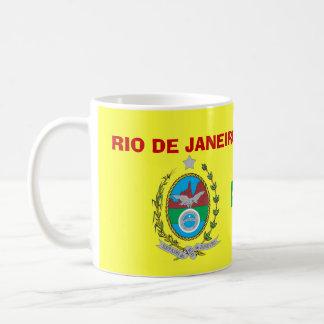 El Brasil Río de Janeiro * escudo y taza de la