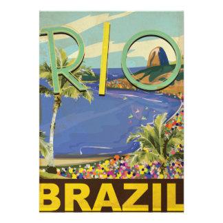 El Brasil - Río de Janeiro Anuncio