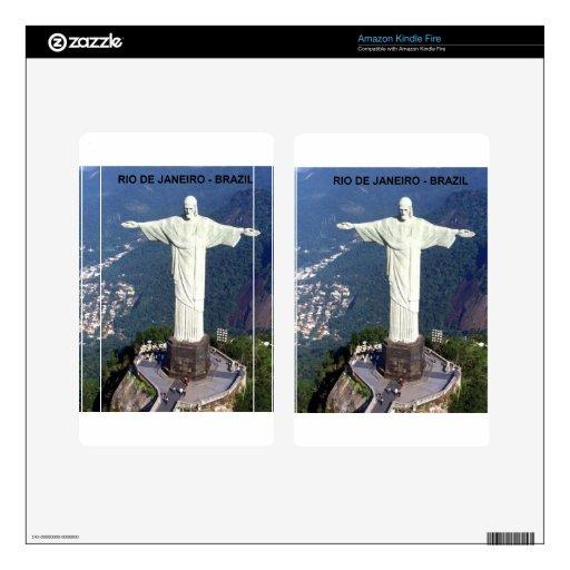 El Brasil Río de Janeiro Jesús (nuevo) (St.K) Skins Para Kindle Fire