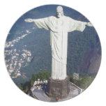 El Brasil Río de Janeiro Jesús (nuevo) (St.K) Plato Para Fiesta