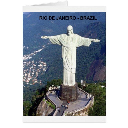 El Brasil Río de Janeiro Jesús (nuevo) (St.K) Tarjeton