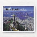 El Brasil Río de Janeiro (St.K.) Alfombrillas De Ratones