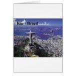 El Brasil Río de Janeiro (St.K.) Tarjetón