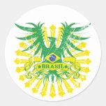 El Brasil se fue volando al pegatina