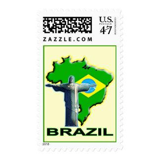 El Brasil Sello Postal