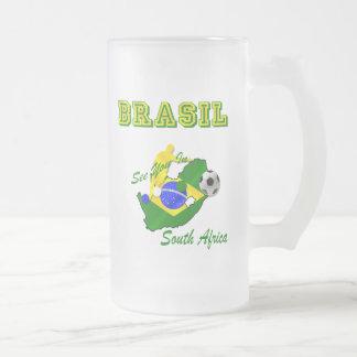 El Brasil Suráfrica califica el Brasil T Tazas