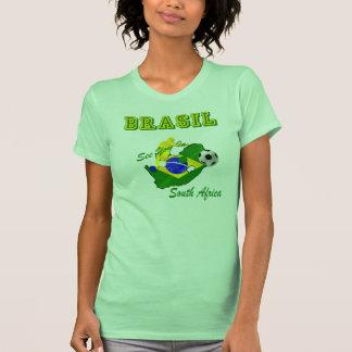 El Brasil Suráfrica califica el Brasil T Camisetas