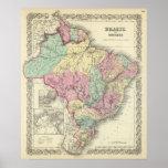 El Brasil y Guayana Póster