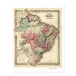 El Brasil y GuayanaPanoramic MapBrazil Postal