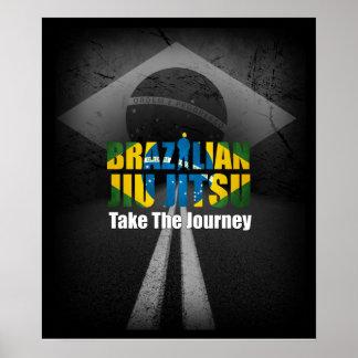 El brasilen@o Jiu Jitsu- toma el poster del viaje