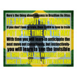 "El brasilen@o Jiu Jitsu ""ve"" el poster invisible"