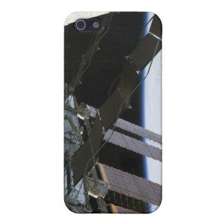 El brazo del esfuerzo en medio del Stat iPhone 5 Carcasa