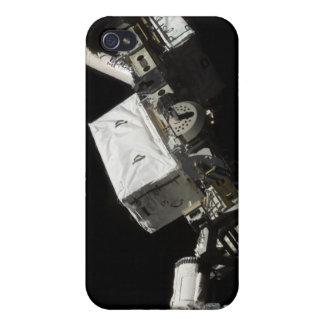 El brazo robótico del sistema de manipulante iPhone 4 fundas