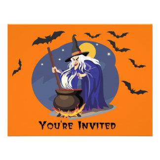 El brew Halloween de la bruja invita Comunicado
