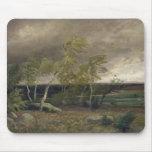 El brezo en una tormenta, 1896 alfombrilla de ratones