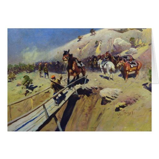 El Bridge del diablo, 1931 Tarjeta De Felicitación