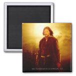 El brillar intensamente de Aragorn Imán De Frigorífico