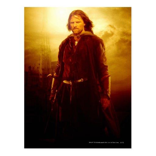 El brillar intensamente de Aragorn Postal