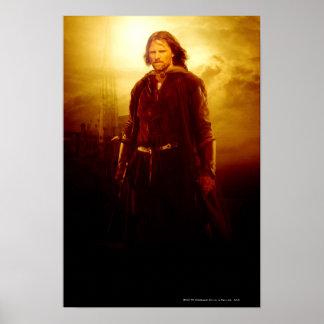 El brillar intensamente de Aragorn Póster