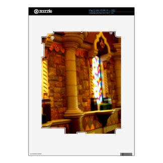 El brillar intensamente de cristal calcomanías para iPad 2