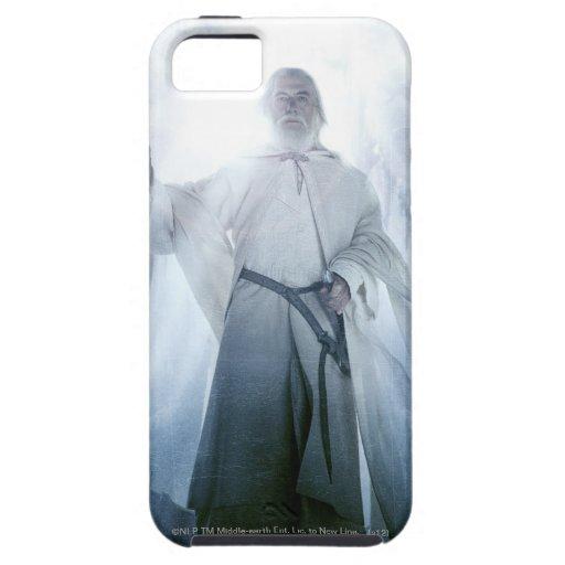 El brillar intensamente de Gandalf iPhone 5 Case-Mate Fundas