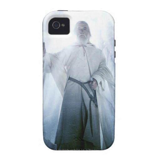El brillar intensamente de Gandalf iPhone 4 Fundas