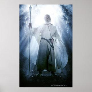 El brillar intensamente de Gandalf Posters