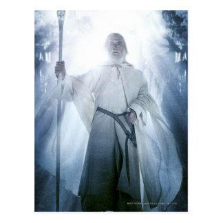 El brillar intensamente de Gandalf Postal