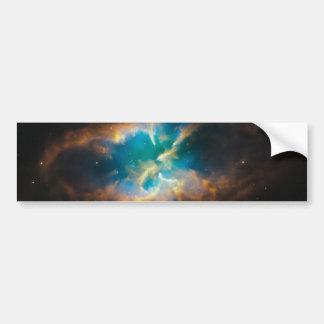 El brillar intensamente de la nebulosa planetaria  etiqueta de parachoque