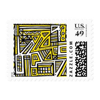 El brillar intensamente sin esfuerzo confiable timbres postales