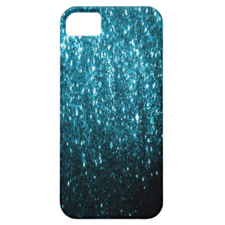 El brillo azul chispea cubierta del iphone 5 iPhone 5 protector
