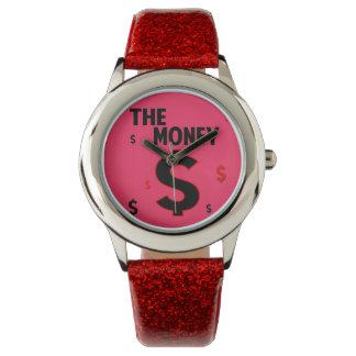El brillo del dinero reloj