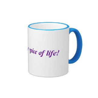 ¡El brillo es la especia de la vida! Taza De Café