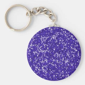 El brillo púrpura lo modificó para requisitos part llavero redondo tipo pin