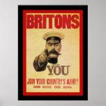 ¡El ~ británico se une a al ejército de su país! Posters